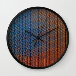 Blended by Kimberly J Graphics Wall Clock