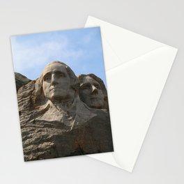 George Washington And Thomas Jefferson  - Mount Rushmore Stationery Cards