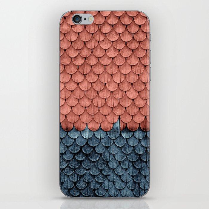 SHELTER / Little Boy Blue / Blooming Dahlia iPhone Skin