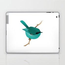 Little Blue Bird Laptop & iPad Skin