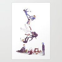 durarara Art Prints featuring trust me not by rhymewithrachel