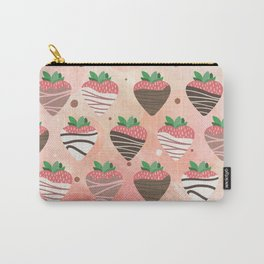 Chocolate Loving Strawberries Carry-All Pouch