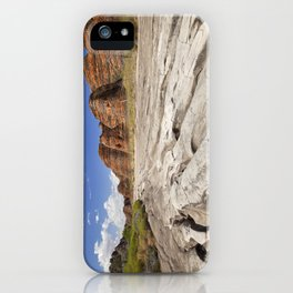 Dry riverbed in Purnululu National Park, Western Australia iPhone Case