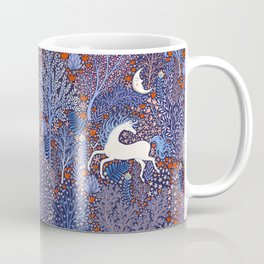 Unicorns in a nocturnal Forest Coffee Mug