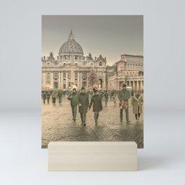 Conciliazione Street, Rome, Italy Mini Art Print