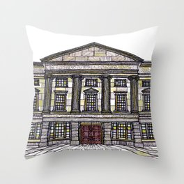 Shrewsbury Museum and Art Gallery, Original Throw Pillow