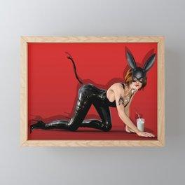 Meow Framed Mini Art Print