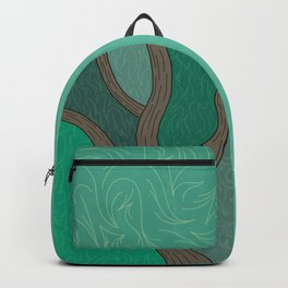 Forest Tree In Motion Backpack