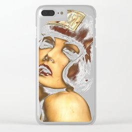 Momma said knock you Clear iPhone Case