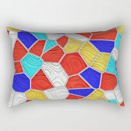 Mosaic Linda 4B Rectangular Pillow