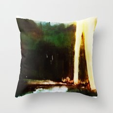 Blitzkrieg/Spotlights Throw Pillow