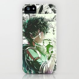 Midoriya Izuku My Hero Academia iPhone Case