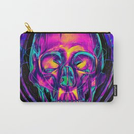 Trippy Skull Carry-All Pouch