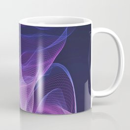 Out of the Blue - Pink, Blue and Ultra Violet Coffee Mug