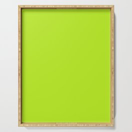 Neon green Serving Tray