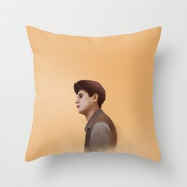 Pensive Skittery Throw Pillow