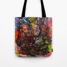 Watercolor Illusion  Tote Bag