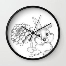 Para Dalia Wall Clock