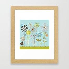 Belles Fleurs Framed Art Print