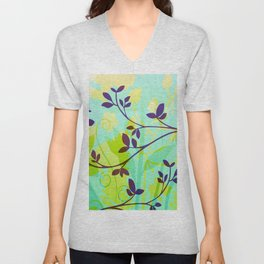 Fanciful Forest Unisex V-Neck