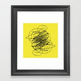 DEVOTIONAL SCRIBBLE Framed Art Print