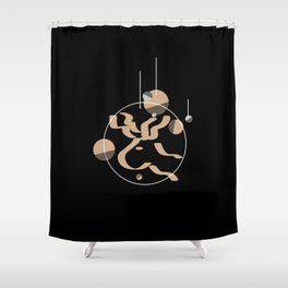 Christmas Decor Shower Curtain