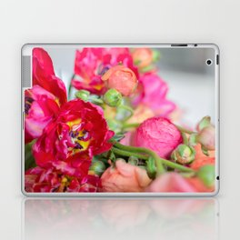 Fiery Red Flowers Laptop & iPad Skin