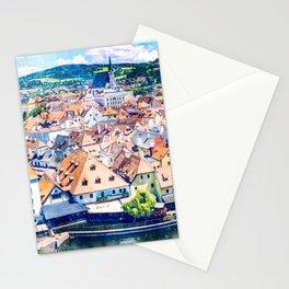 Ceský Krumlov Stationery Cards