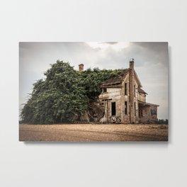 Abandoned Farm House Metal Print