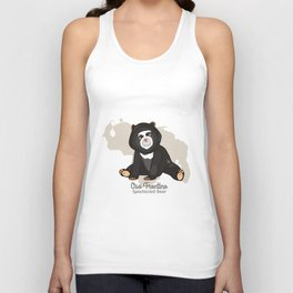 Oso Frontino/Spectacled Bear Unisex Tank Top
