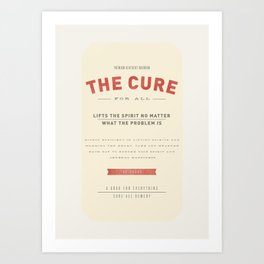 The Cure Art Print