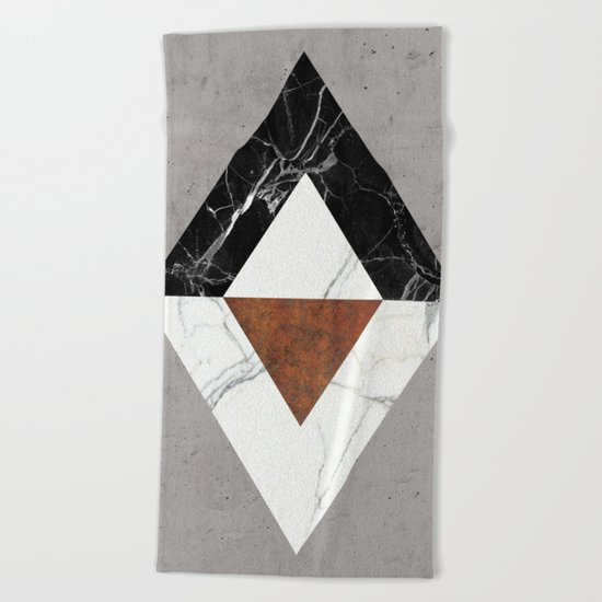 Marble Abstract Beach Towel