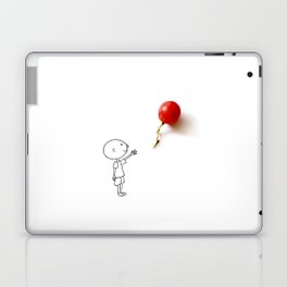 Grape balloon Laptop & iPad Skin