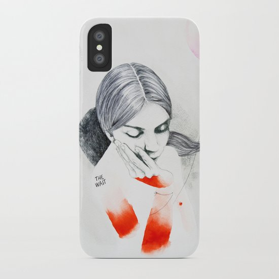 The Wait iPhone Case