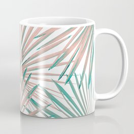 Tropical Fan Palm Leaves #8 #tropical #decor #art #society6 Coffee Mug