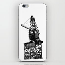 Coal Derrick iPhone Skin