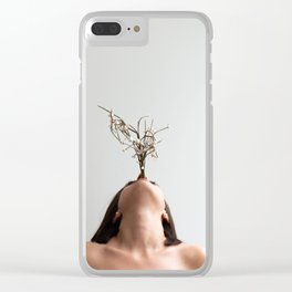Tree mouth Clear iPhone Case