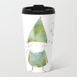 Bird Elf Metal Travel Mug