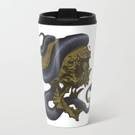 Skull & Snake, such a classic Travel Mug