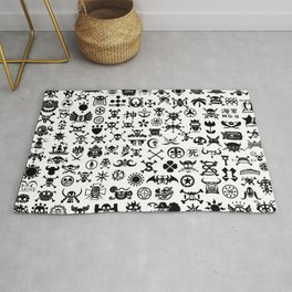 One Piece Jolly Roger Rug