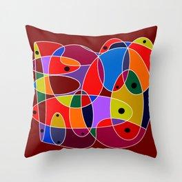 Klee #77 Throw Pillow