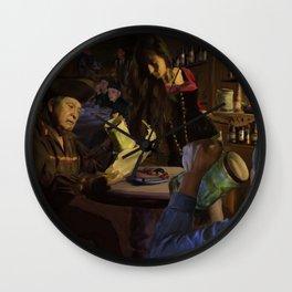 Pirate Cavern Wall Clock