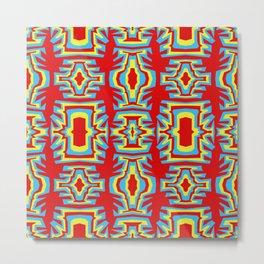 Fire Coral - Coral Reef Series 007 Metal Print