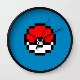 Poke Go Blue Edition Wall Clock