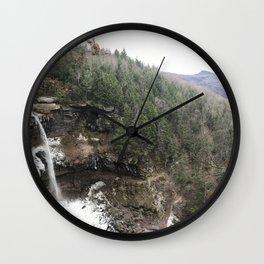 Kaaterskill Falls Wall Clock