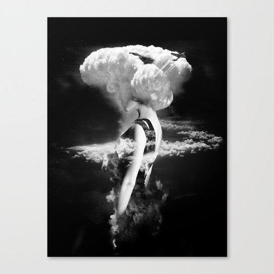 War Goddess Canvas Print