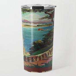 Vintage poster - Biarritz, France Travel Mug