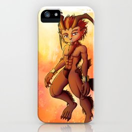 Ifrit, Fire Spirit iPhone Case