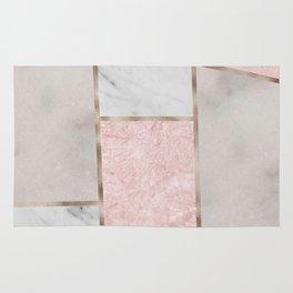 Pink stones - rose gold adorns Rug