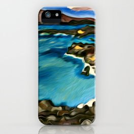 Secret Beach iPhone Case